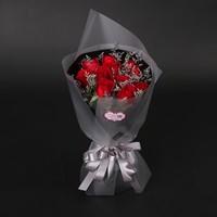 黑色玫瑰花束图片大全