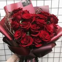红玫瑰花束图片大全