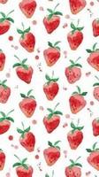 草莓图片大全可爱