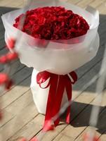 炽爱丹心一一99枝红玫瑰花束