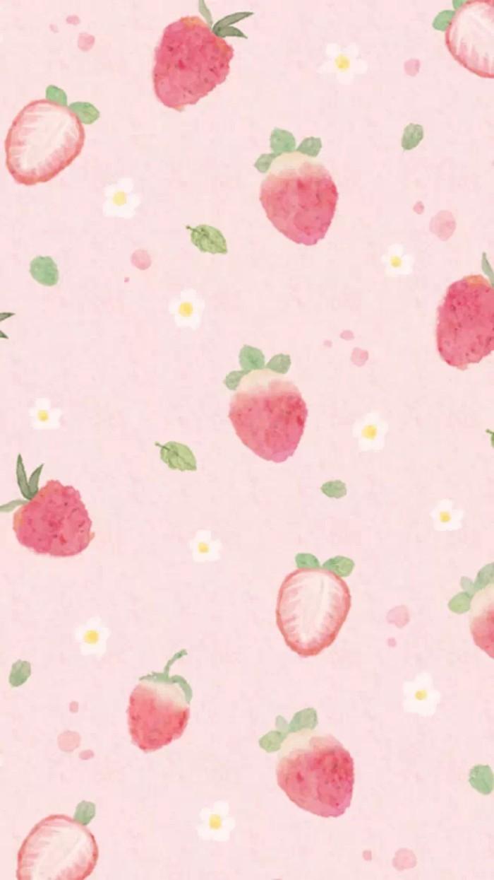 草莓可爱壁纸
