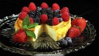 水果小雨伞蛋糕图片