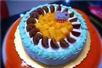 水果生日蛋糕图片大全摆法