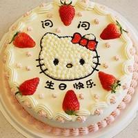 儿童生日蛋糕图片水果