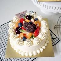 六寸水果蛋糕图片