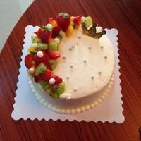 简单好看的水果蛋糕装饰图片大全