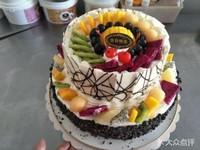 创意水果蛋糕拼盘图片