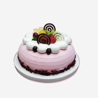 创意型水果蛋糕图片