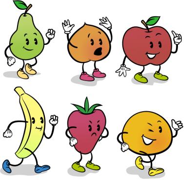 水果简笔画可爱图片