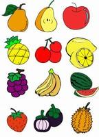水果简笔画图片大全可爱