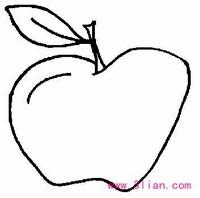 小水果简笔画图片大全大图