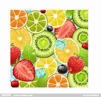 水果切面图片创意画