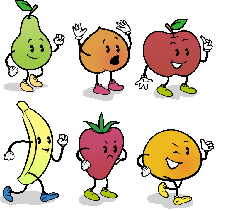 水果简笔画大全可爱