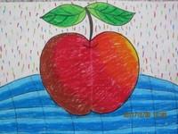 幼儿简易水果图画