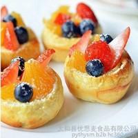 面包水果摆盘图片