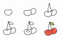 夏天的水果图片简笔画