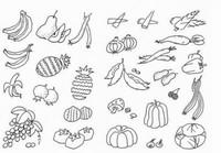 蔬菜水果图片简笔画
