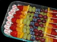 水果串串图片大全简笔画