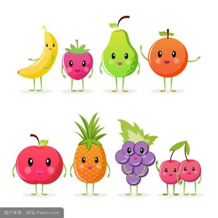 水果可爱简笔画图片大全