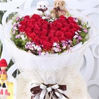 生日玫瑰花束唯美图片大全