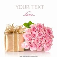 情人节钱包玫瑰花图片