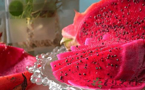 红火龙果的功效与作用?红心火龙果虽好,也要注意合理食用!