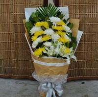 菊花花束图片