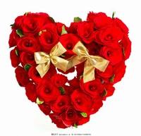 浪漫心形图片玫瑰花