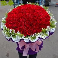 99个玫瑰花束图片大全