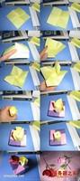 纸叠玫瑰花图片