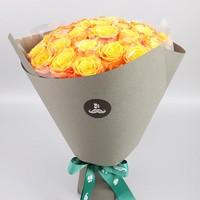 黄玫瑰花束图片大全