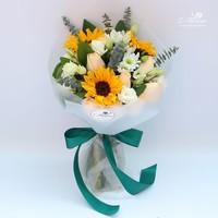 向日葵花束图片