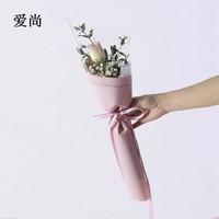 单支玫瑰花包装图片