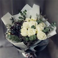 绣球玫瑰花束图片大全