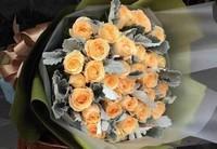 最适合送给恋人的花朵,香槟玫瑰只钟情于一人