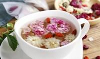 花卉保健:依据不同花茶的功效,调制出适合自己喝的冬日花茶