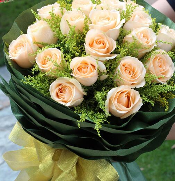 香槟玫瑰花语 不同数量的香槟玫瑰花语都代表什么含义